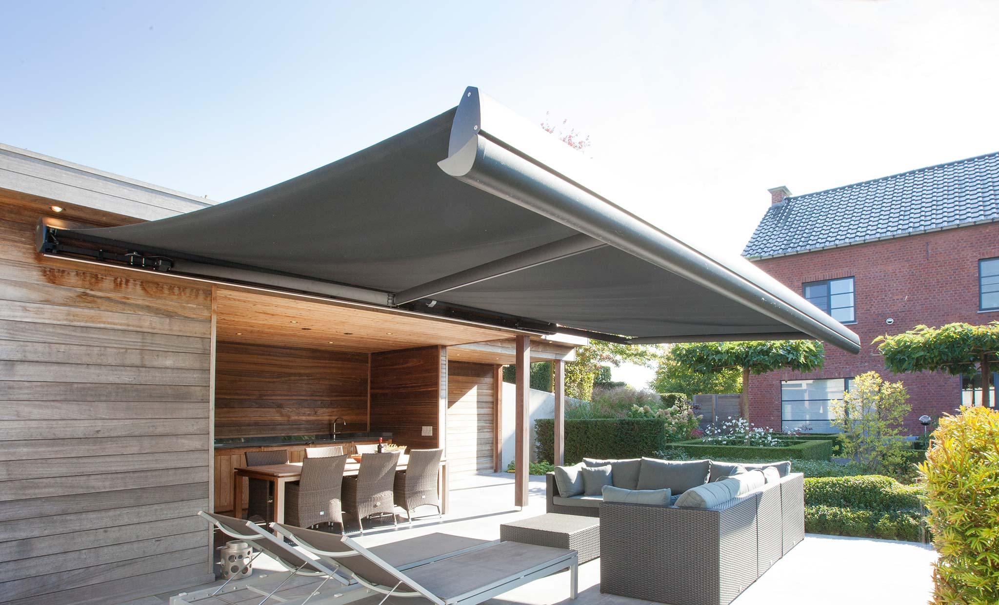 robuust scherm tot 4 m uitval lx530 harol. Black Bedroom Furniture Sets. Home Design Ideas